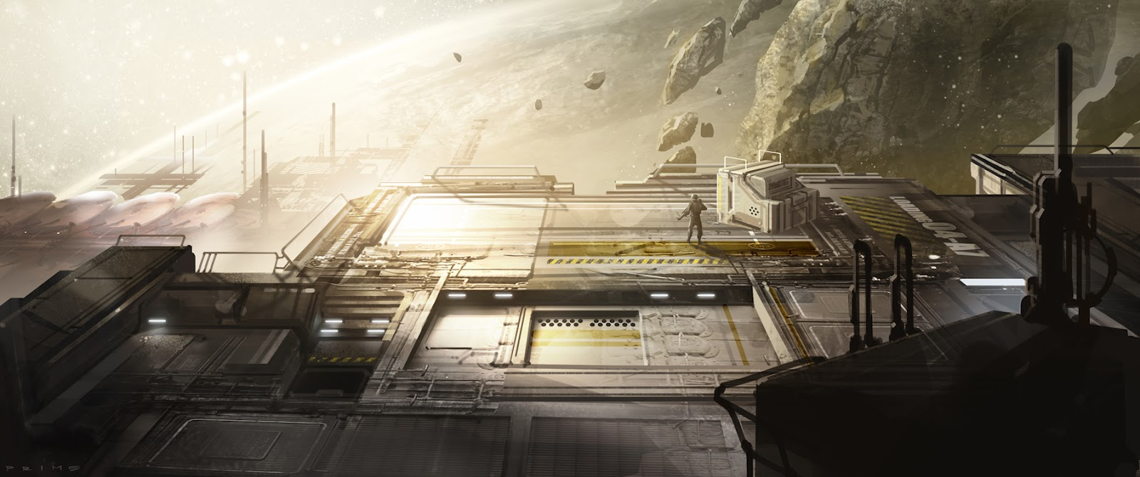 Warhouse map halo 4 artwork
